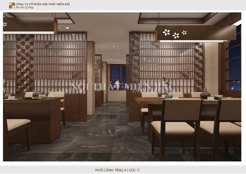 Kế hoạch thi công nhà hàng Nhật