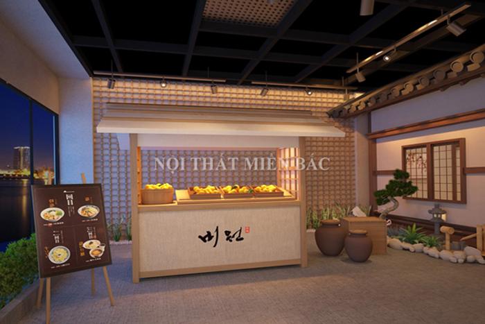 Thiết kế nhà hàng cổ điển kiểu Nhật đẹp độc đáo