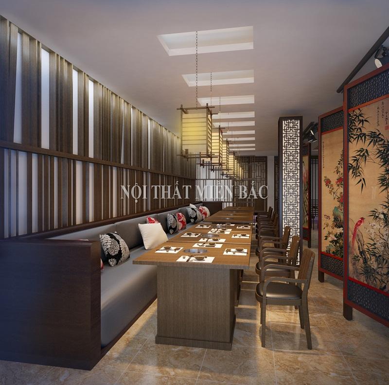 Thiết kế nhà hàng cao cấp - 2