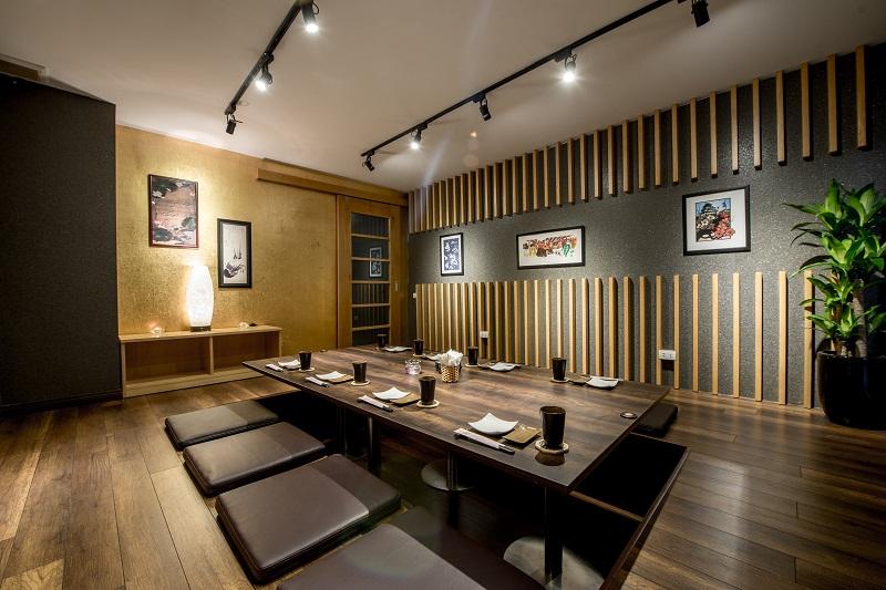 Thiết kế nội thất nhà hàng cao cấp phòng VIP