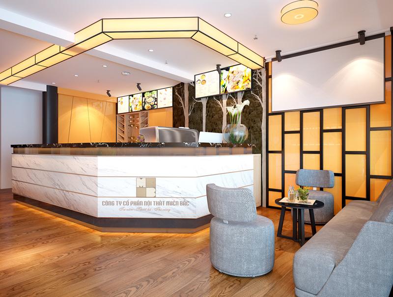 Thiết kế nội thất nhà hàng I Steam sang trọng cuốn hút P1 - H3