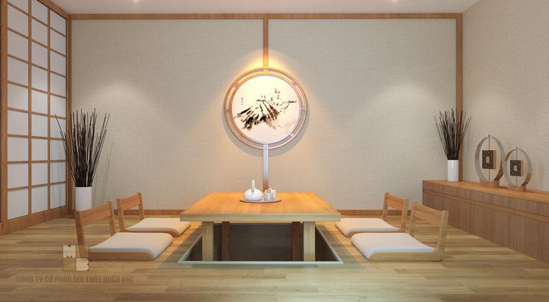 Tư vấn thiết kế nhà hàng Nhật không gian cuốn hút thực khách